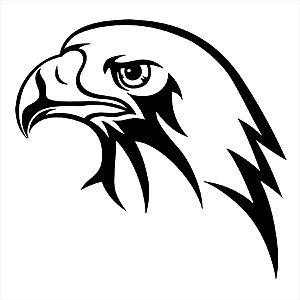 Adesivo - Cabeça De Águia Eagle'S Head Natureza