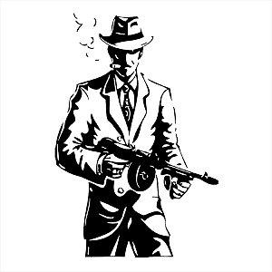 Adesivo - Gangster Pessoas