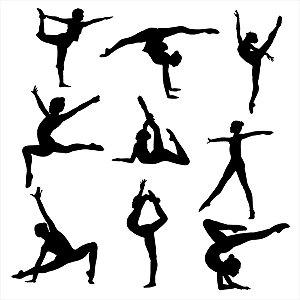 Adesivo - Bailarinas Ballerinas Dança