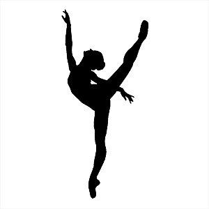 Adesivo - Bailarina Ballerina Dança