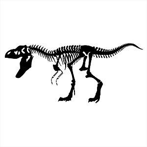 Adesivo - T-Rex Dinossauro Ossos Dinosaur Bones Terror Cinema