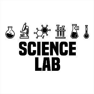 Adesivo - Science Lab Laboratório De Ciências Ciência