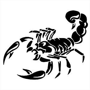 Adesivo - Escorpião Scorpion Desenho