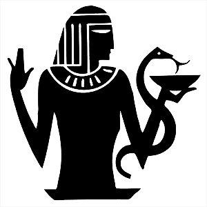 Adesivo - Pessoa Egípcia E Serpente Desenho