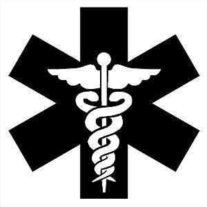 Adesivo - Caduceu De Hermes Símbolo Medicina Profissões