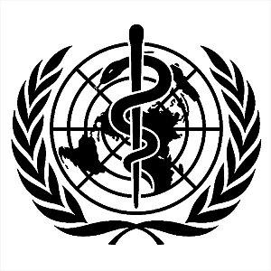Adesivo - Oms Logo Bastão De Esculápio Medicina Profissões