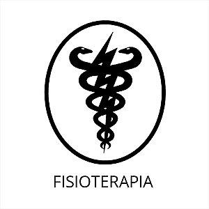 Adesivo - Símbolo Fisioterapia Profissões