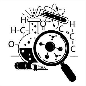 Adesivo - Laboratório De Ciências Science Lab Ciência
