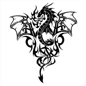 Adesivo - Dragon Dragão Desenho
