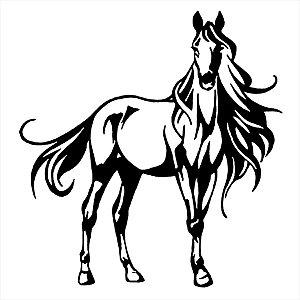 Adesivo - Cavalo Desenho Cartoon Horse Desenho
