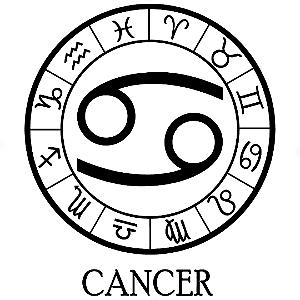 Adesivo - Câncer Cancer Signos Do Zodíaco Signs