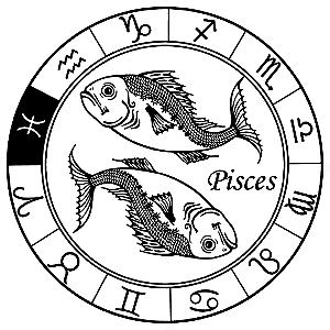 Adesivo - Peixes Pisces Signos Do Zodíaco Signs