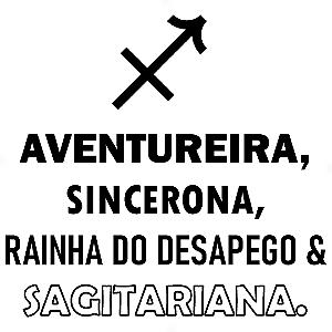 Adesivo - Sagitariana Signos do Zodíaco Signs
