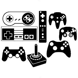 Adesivo - Joysticks Controles Gamer