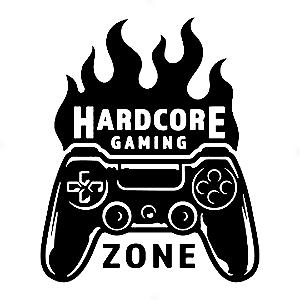 Adesivo - Hardcore Gaming Zone Gamer