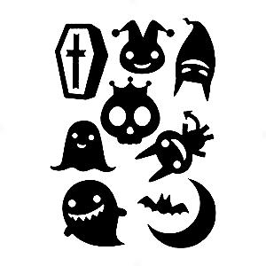 Adesivo - Cartela Halloween