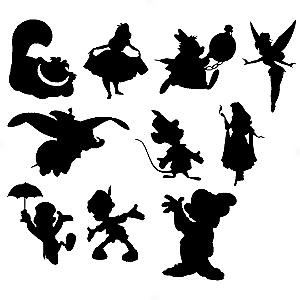 Adesivo - Cartela Desenhos Cartoon