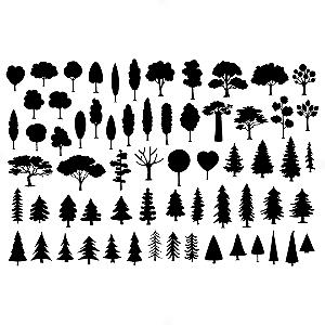 Adesivo - Cartela Árvores Trees