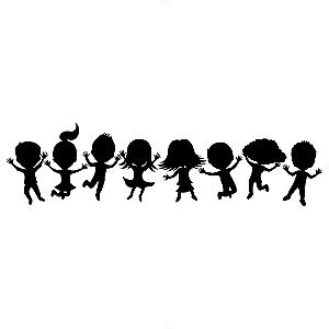Adesivo - Cartela Boys Girls Kids Children Crianças