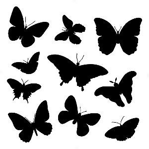 Adesivo - Cartela Borboletas Butterflies