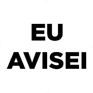Adesivo - Eu Avisei