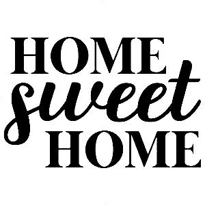 Adesivo - Home Sweet Home