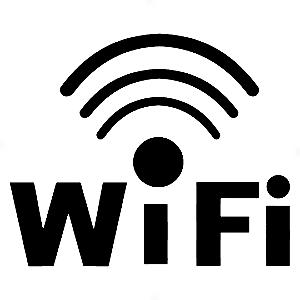 Adesivo - Wi-fi Logo