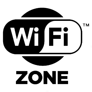 Adesivo - Wi-fi Zone Logo