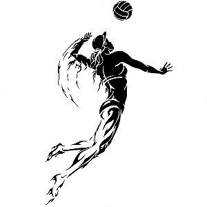 Adesivo - Voleibol Esporte Voley Volei