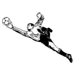 Adesivo - Bola Futebol Goleiro Esporte Jogo