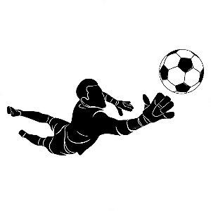 Adesivo - Bola Esporte Jogo Futebol Goleiro