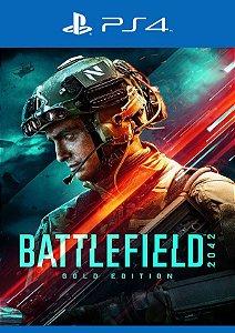 Battlefield 2042 Ediçao Gold - PS4