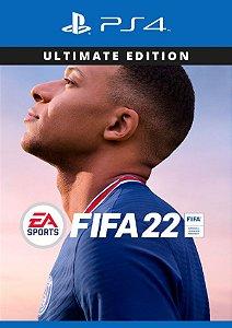 FIFA 22 Versão Ultimate - PS4
