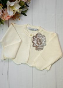 CASAQUETO BEBE OFF WHITE