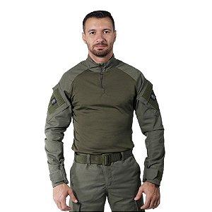 Combat Shirt Verde Oliva Bélica