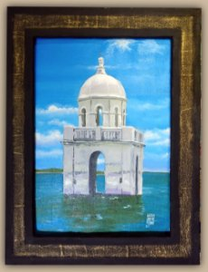 Torre sobre as águas São Rafael RN