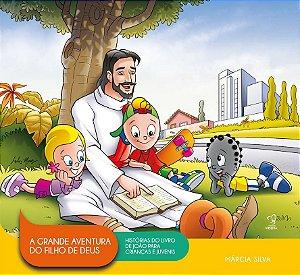 LIVRO ILUSTRADO- A GRANDE AVENTURA DO FILHO DE DEUS