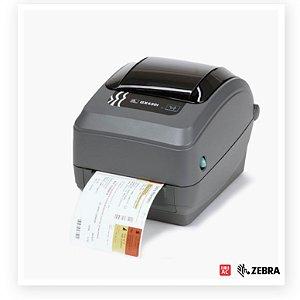 Impressora de Etiquetas Zebra GX420t 203dpi - Serial, USB e Ethernet (ZebraNet) (Código: GX42-1024A0-000)