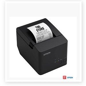 Impressora Não Fiscal Epson TM-T20X com Guilhotina - USB e Serial