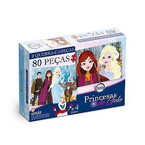 Quebra Cabeça Princesas do Gelo