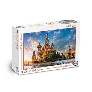 Puzzle Moscou, Rússia - 500 Peças