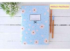 Caderno Flex Floral - Pautado