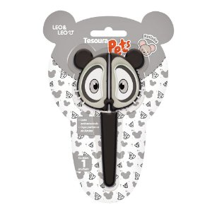 Tesoura Pets Ratinho LEO&LEO