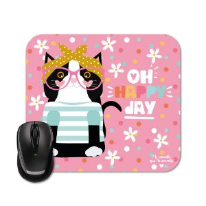 Mouse Pad Happy Mia