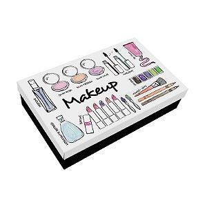Caixa para Maquiagem Makeup