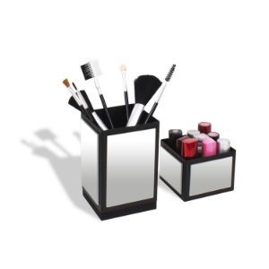 Organizador para Maquiagem Torre Espelhado