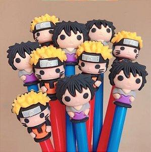 Caneta Naruto e Sasuke