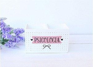 Porta Caneta Duplo Psicologia