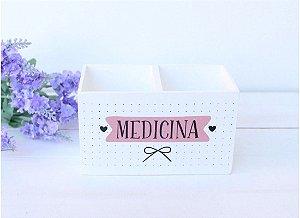 Porta Caneta Duplo Medicina