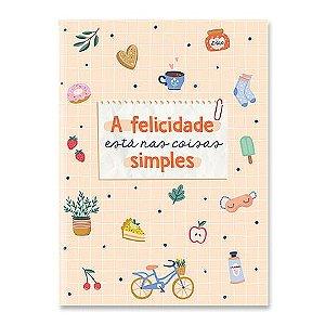 Caderneta Dueto A Felicidade